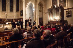 1er septembre 2019, Restoration Consort, voix et orgue @ Saint-Antonin-Noble-Val